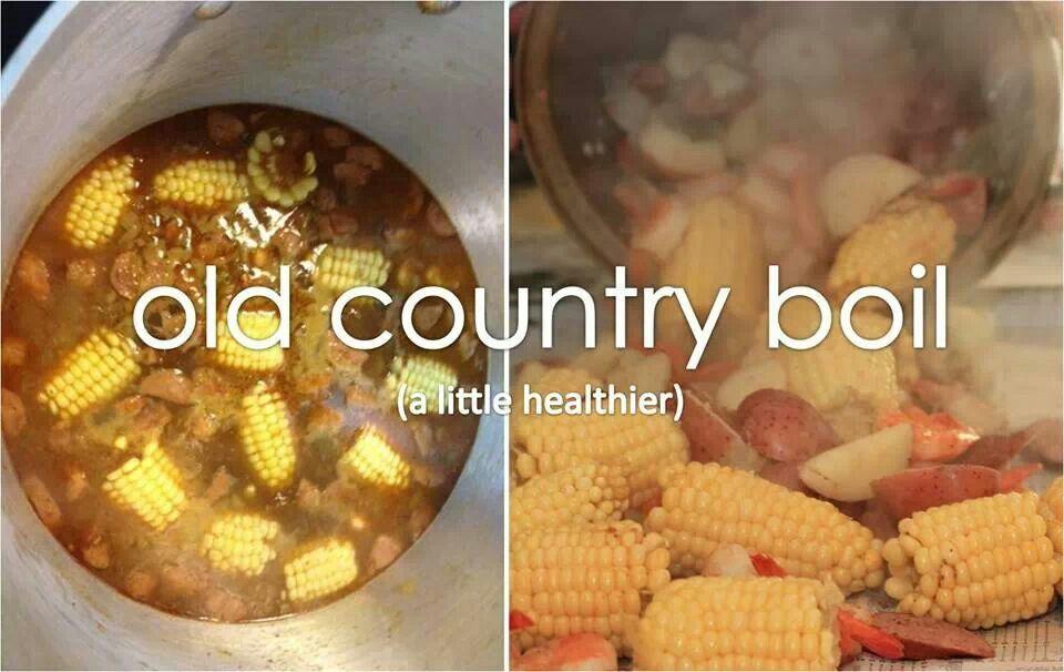 Good Junk Pot Food Recipes Country Boil