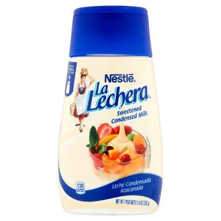 Photo of Nestlé La Lechera Sweetened Condensed Milk, 11.8 oz, 12 pack – Walmart.com