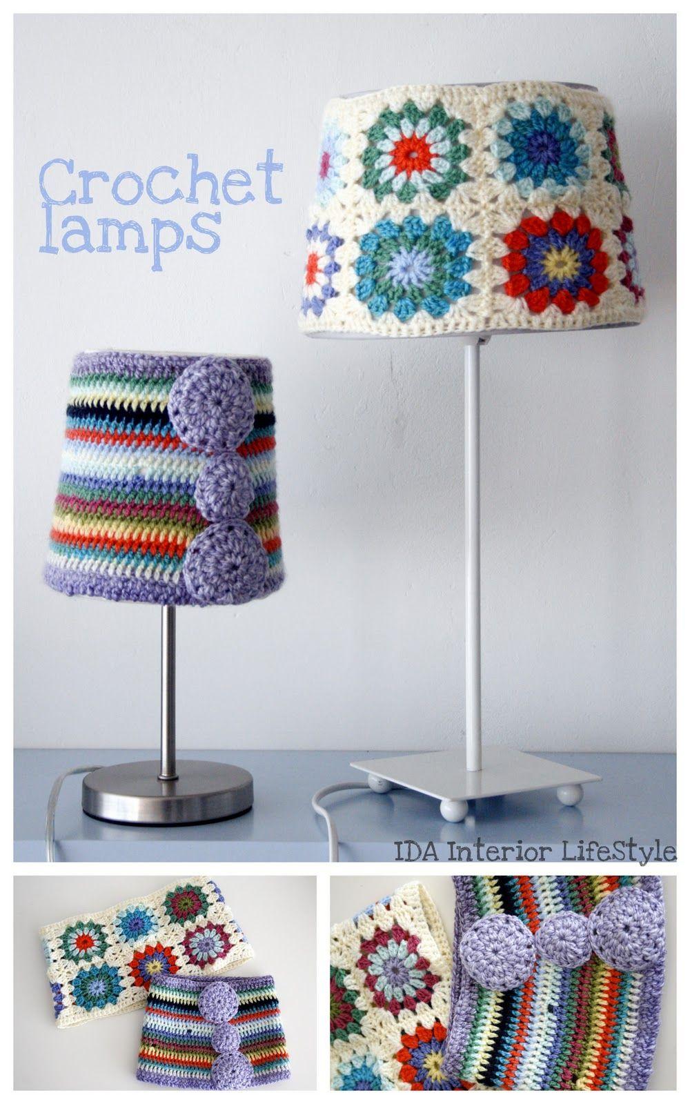 Sacocharte: d-eco: Lampara-lampe-lamp de crochet!!   Para la Casa a ...