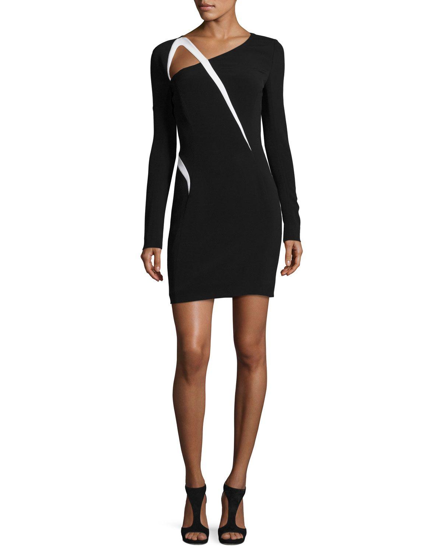 Thierry Mugler Asymmetrical Maxi Dress Footlocker Pictures Sale Online FT2JvdGH