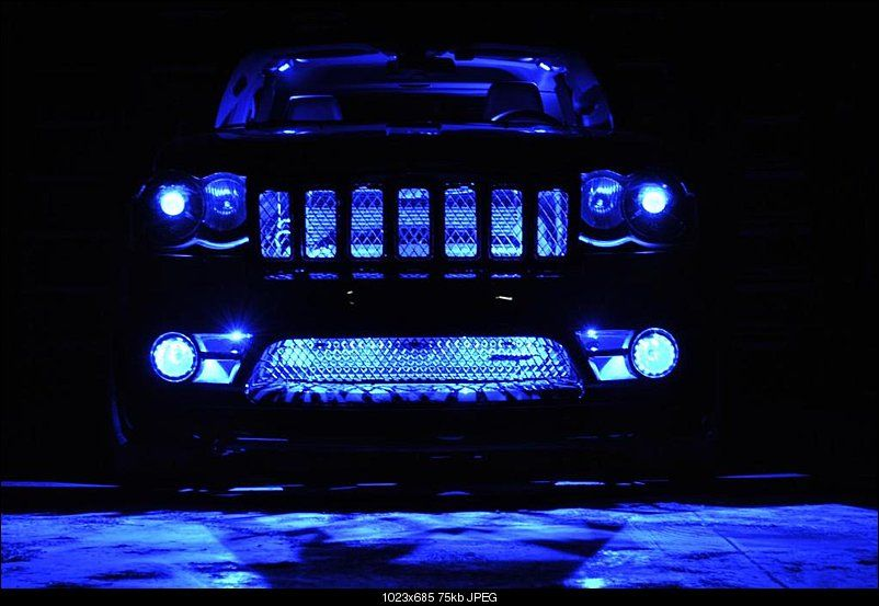 Lights On Jeep With Images Jeep Grand Cherokee Accessories