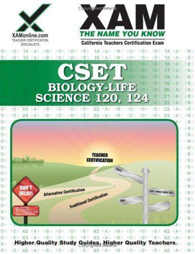 cset biology life science 120 124 teacher certification test prep rh pinterest com Ceramic Final Exam Study Guide College Final Exam Study Tips Infographic