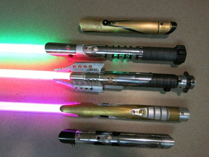 Interview with ken hampton of hampton s hand crafted for Hampton s hand crafted led sabers
