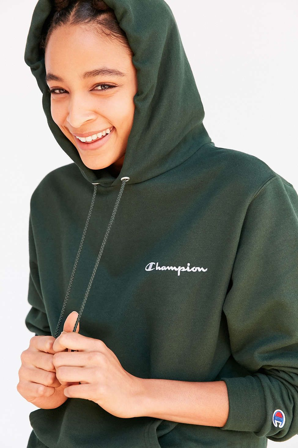 c8d860b50275 Champion + UO Hunter Hoodie Sweatshirt
