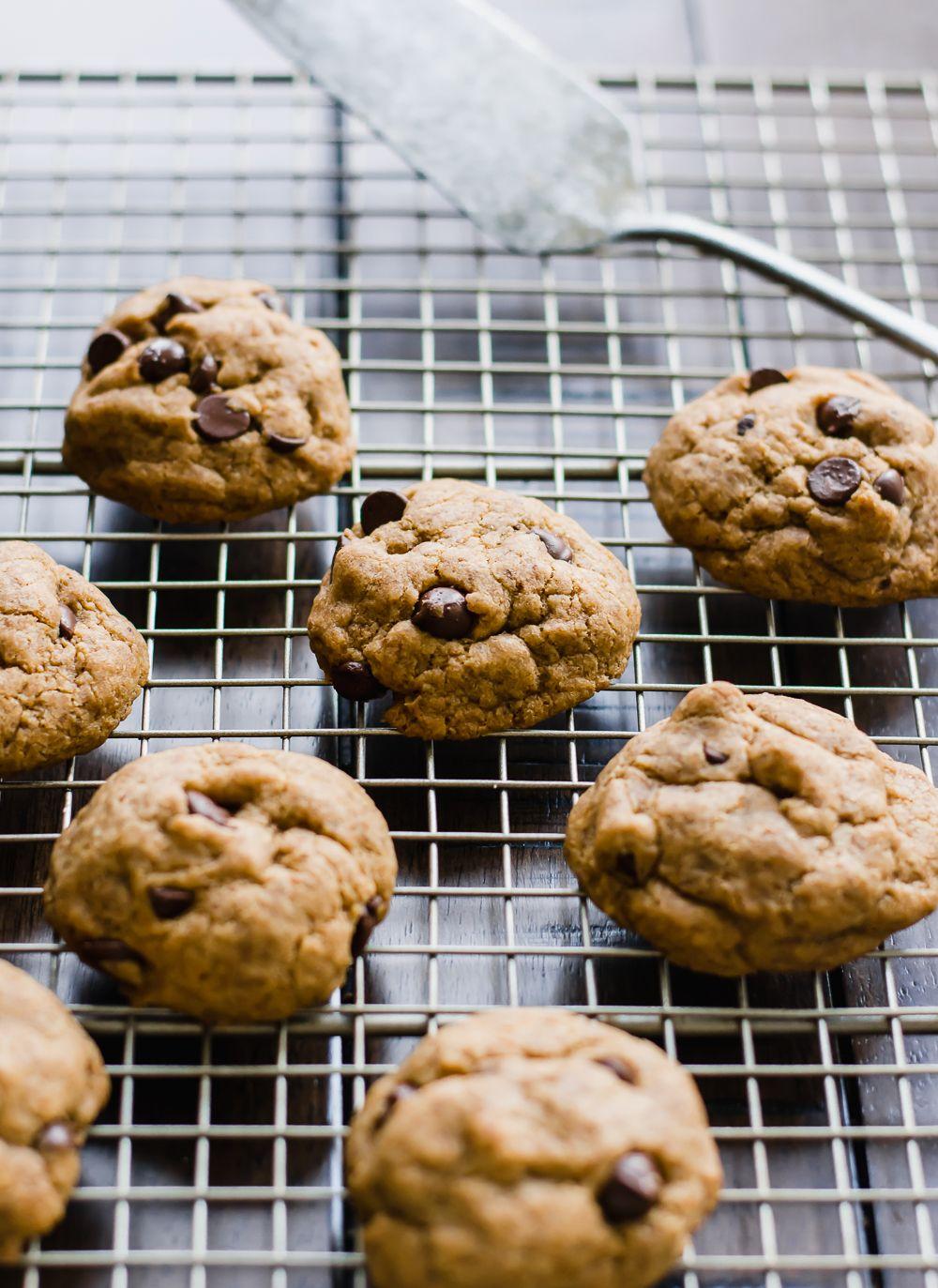 Gut Healthy Gluten Free Chocolate Chip Cookies Vegan