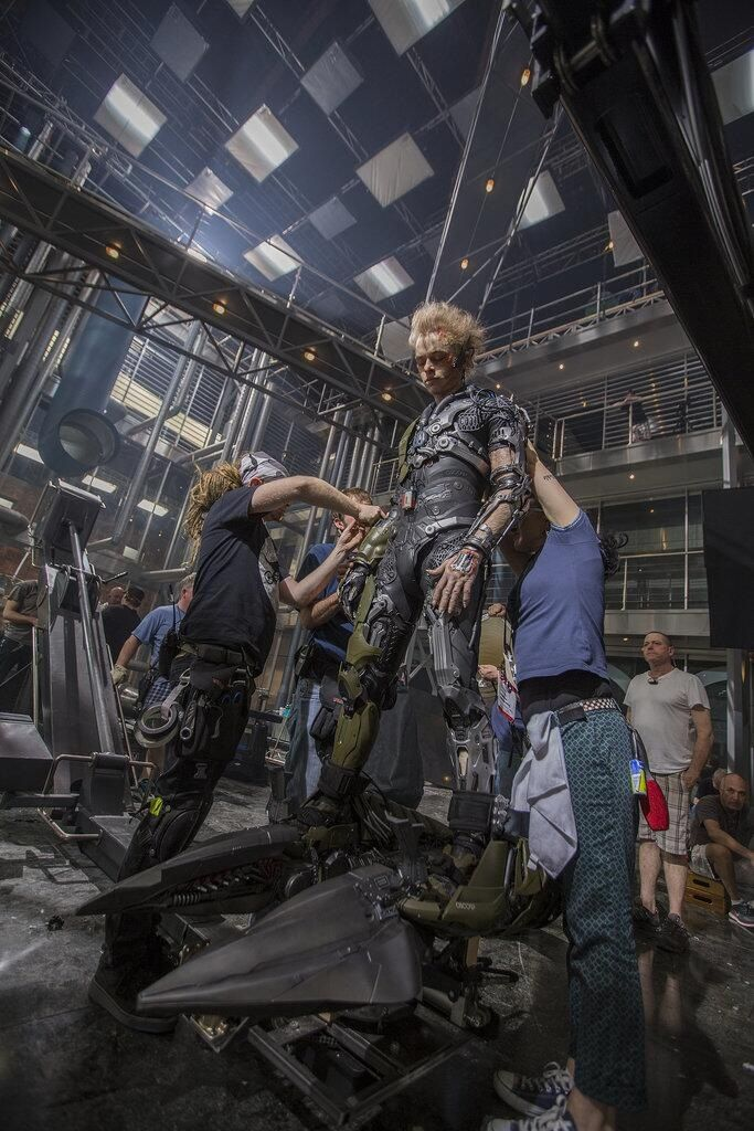 Green Goblin behind the scenes in The Amazing Spiderman 2 ...