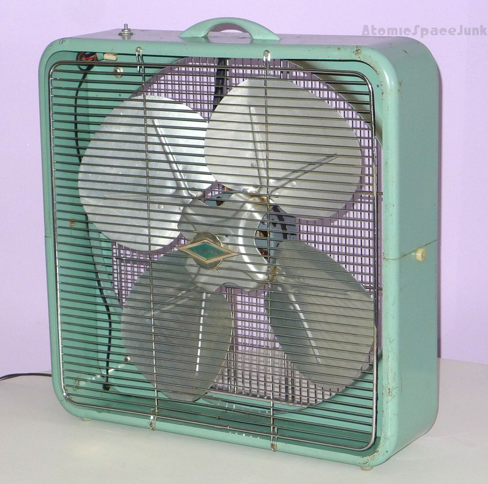 LASKO BREEZE MAKER VINTAGE BOX FAN 1950s TURQUOISE AQUA SEAFOAM BLUE & LASKO BREEZE MAKER VINTAGE BOX FAN 1950s TURQUOISE AQUA SEAFOAM ... Aboutintivar.Com