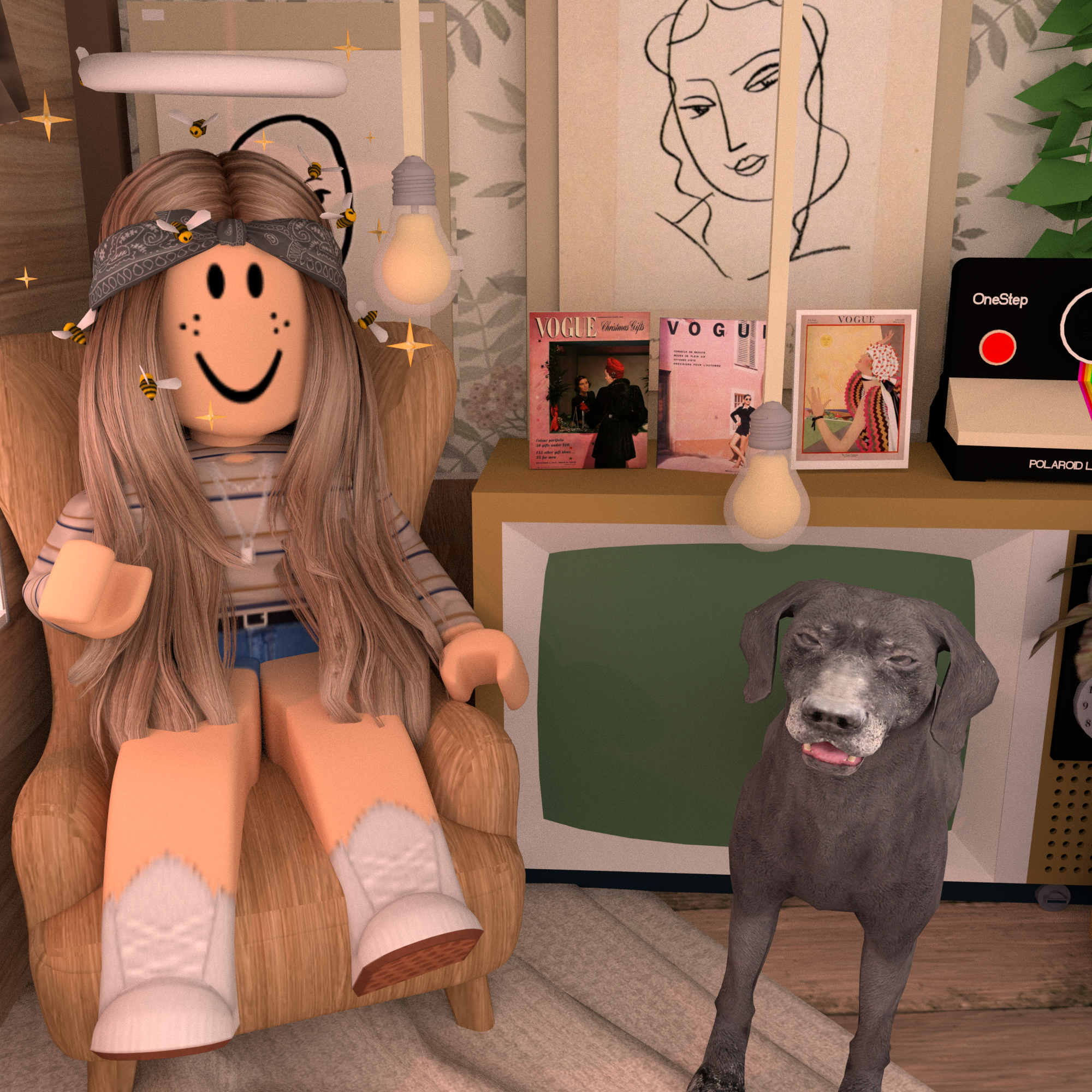 Here Is My Avatar In Roblox Adopt Me Di 2020