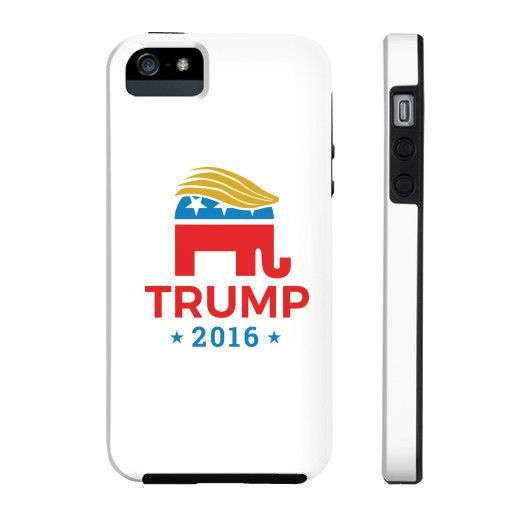 Donald Trump for President 2016 Elephant iphone case
