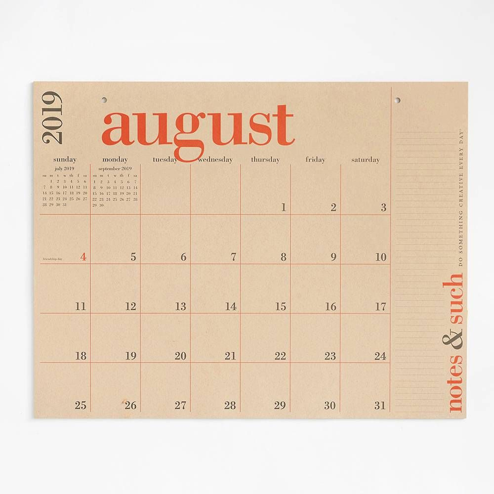 Paper Source Calendar 2020 2020 Great Big Calendar in 2019 | Make Big Plans   Planner