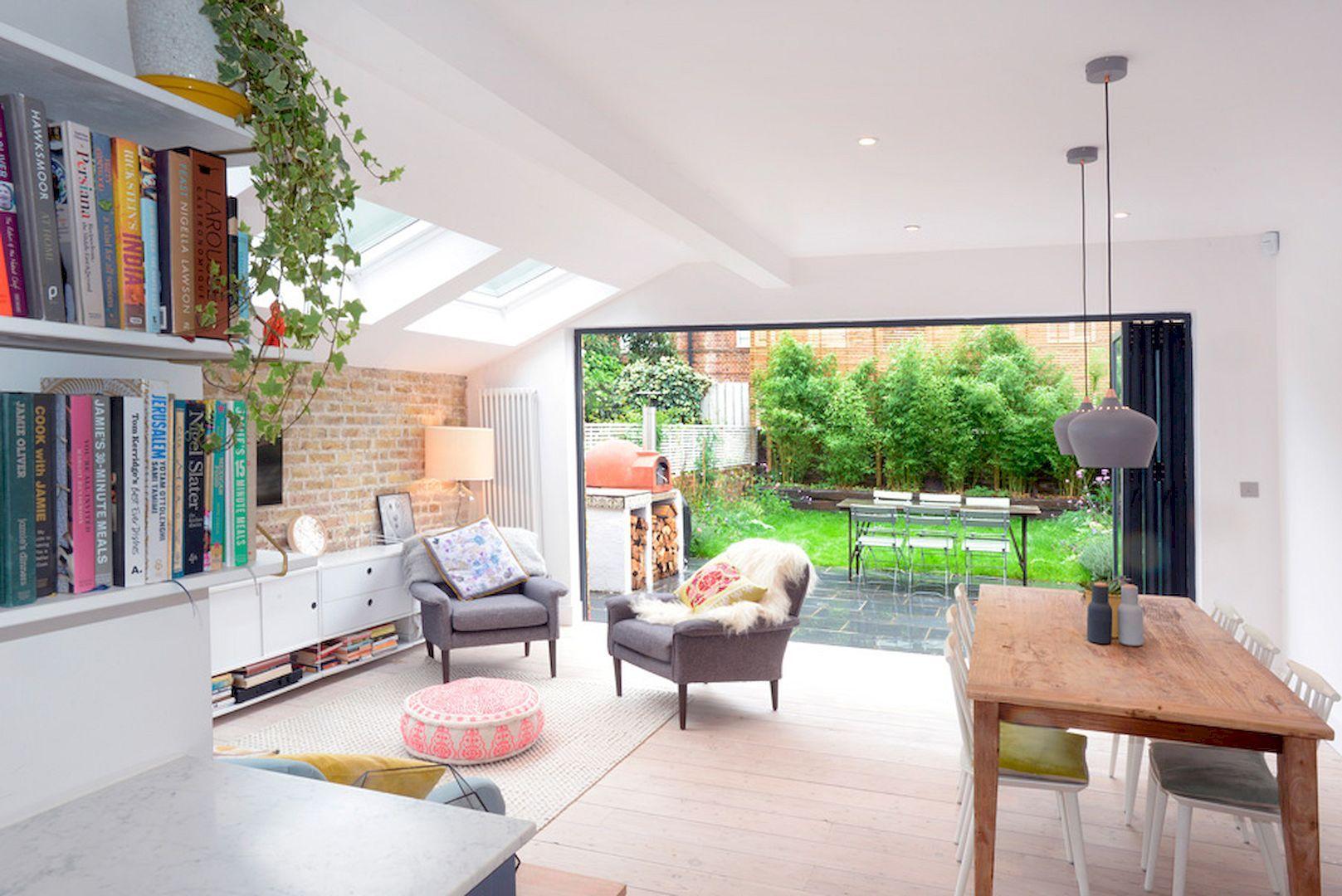 Unconventional Interior Home Designs Open Plan Kitchen Living