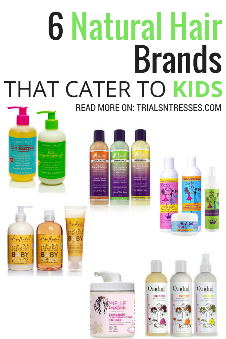 6 Natural Hair Brands That Cater To Kids Natural hair