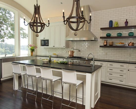 We Have A Colonial Style House Modern Colonial Kitchen Google