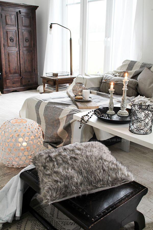 DIY Boho-Tasse Indianerschmuck Room ideas and Room - wohnzimmer couch gemutlich