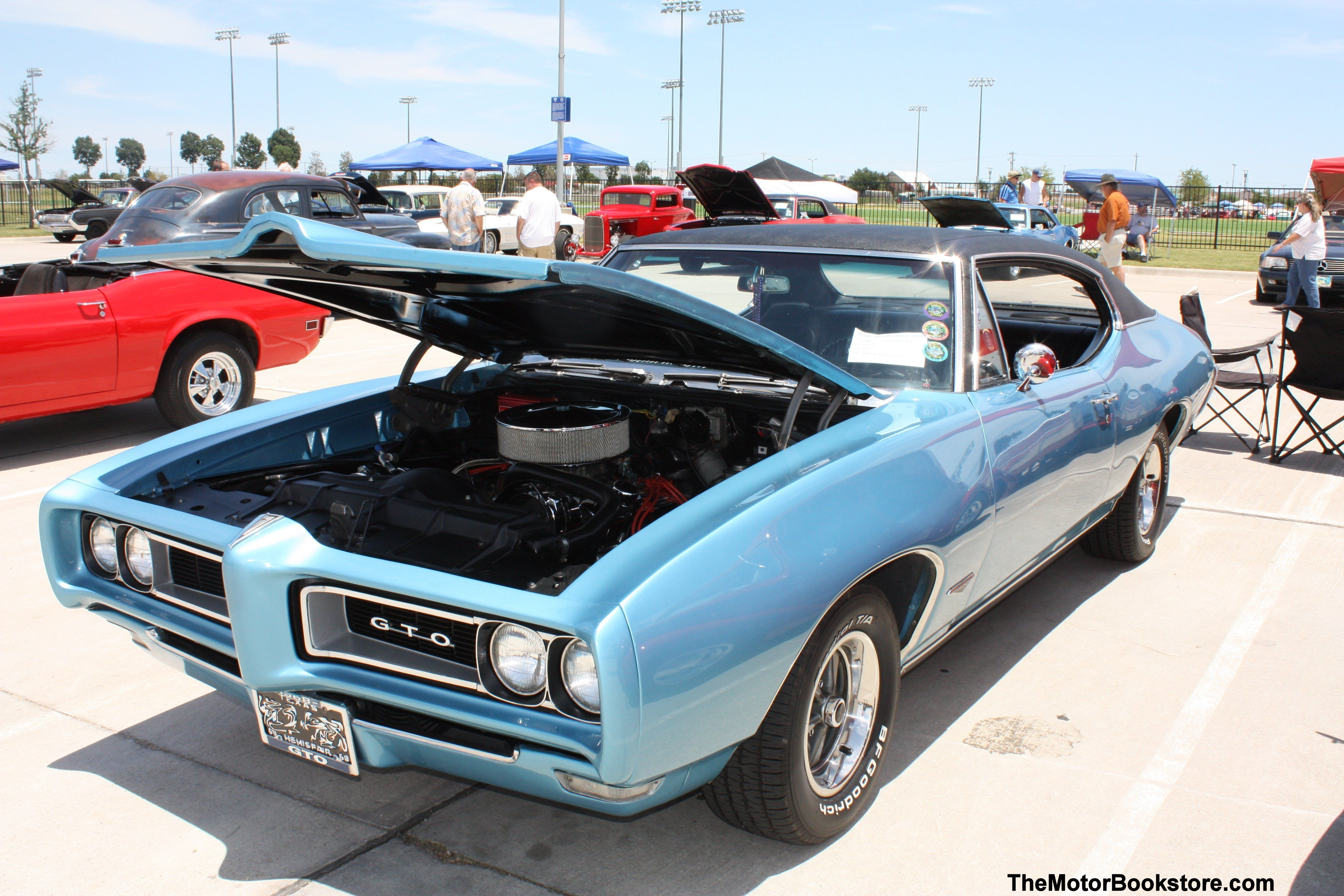 1968 Pontiac GTO. Sweet! You will find restoration, repair and shop manuals  for