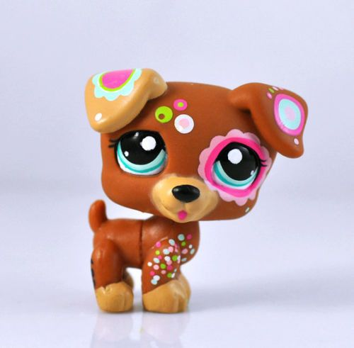 Littlest Pet Shop Dog Collection Child Girl Figure Cute Toy Loose LPS#672    I love it!