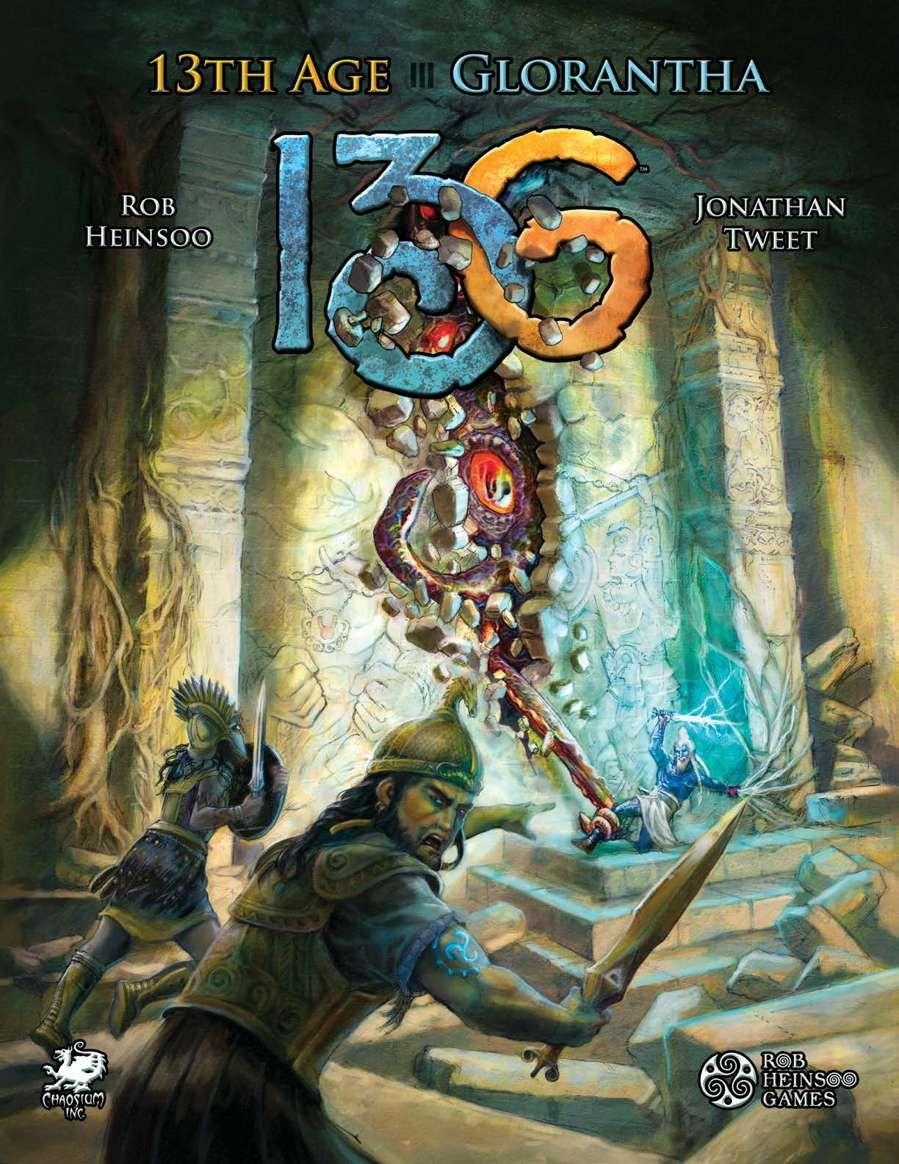 13th Age Glorantha - Chaosium | RuneQuest | DriveThruRPG com
