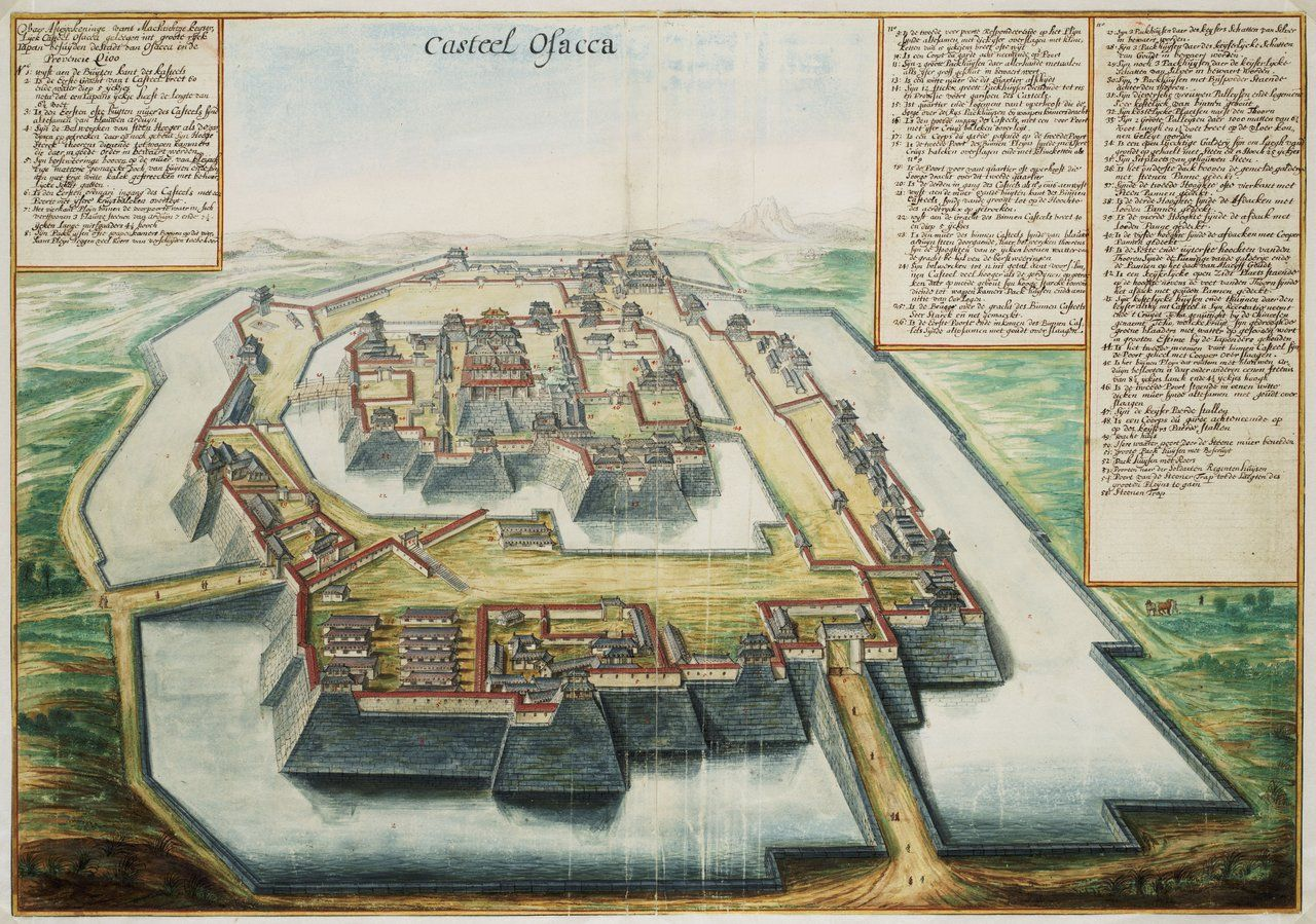 Johannes Vingboons produced views of many cities across the world