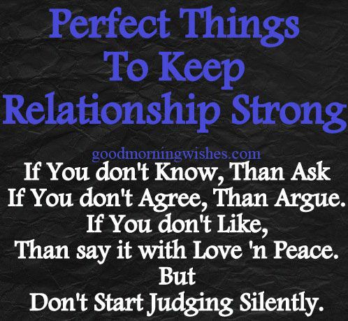 keep relationship going strong quotes for family