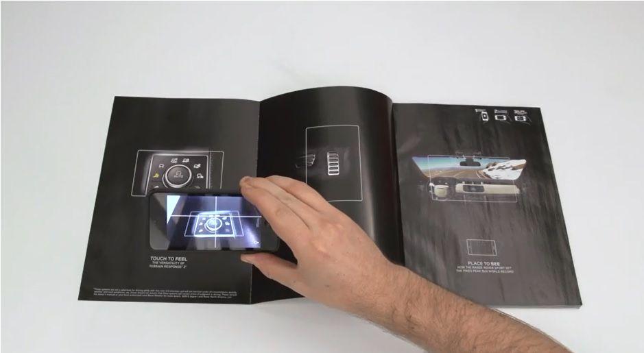 """誌面で""""疑似ドライブ体験""""ができる効果絶大なAR広告     AdGang"""
