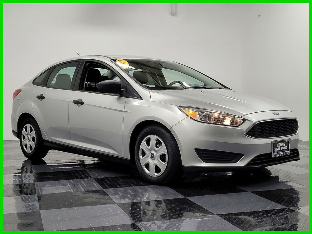 2017 Ford Focus S 2017 S Used 2l I4 16v Automatic Fwd Sedan Ford Focus Ford Focus S Fwd