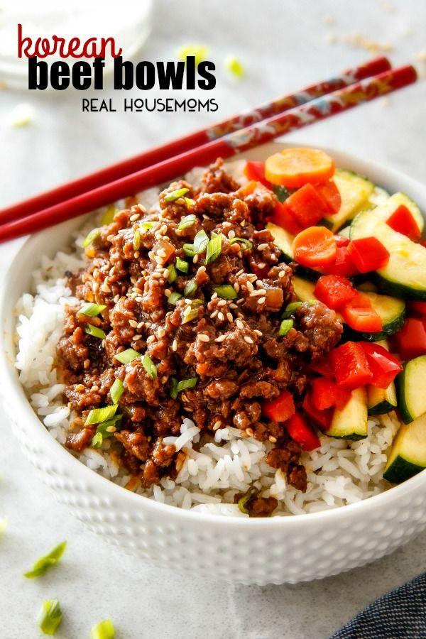Weekly Menu Plan 98 The Recipe Critic Korean Beef Bowl Korean Beef Beef