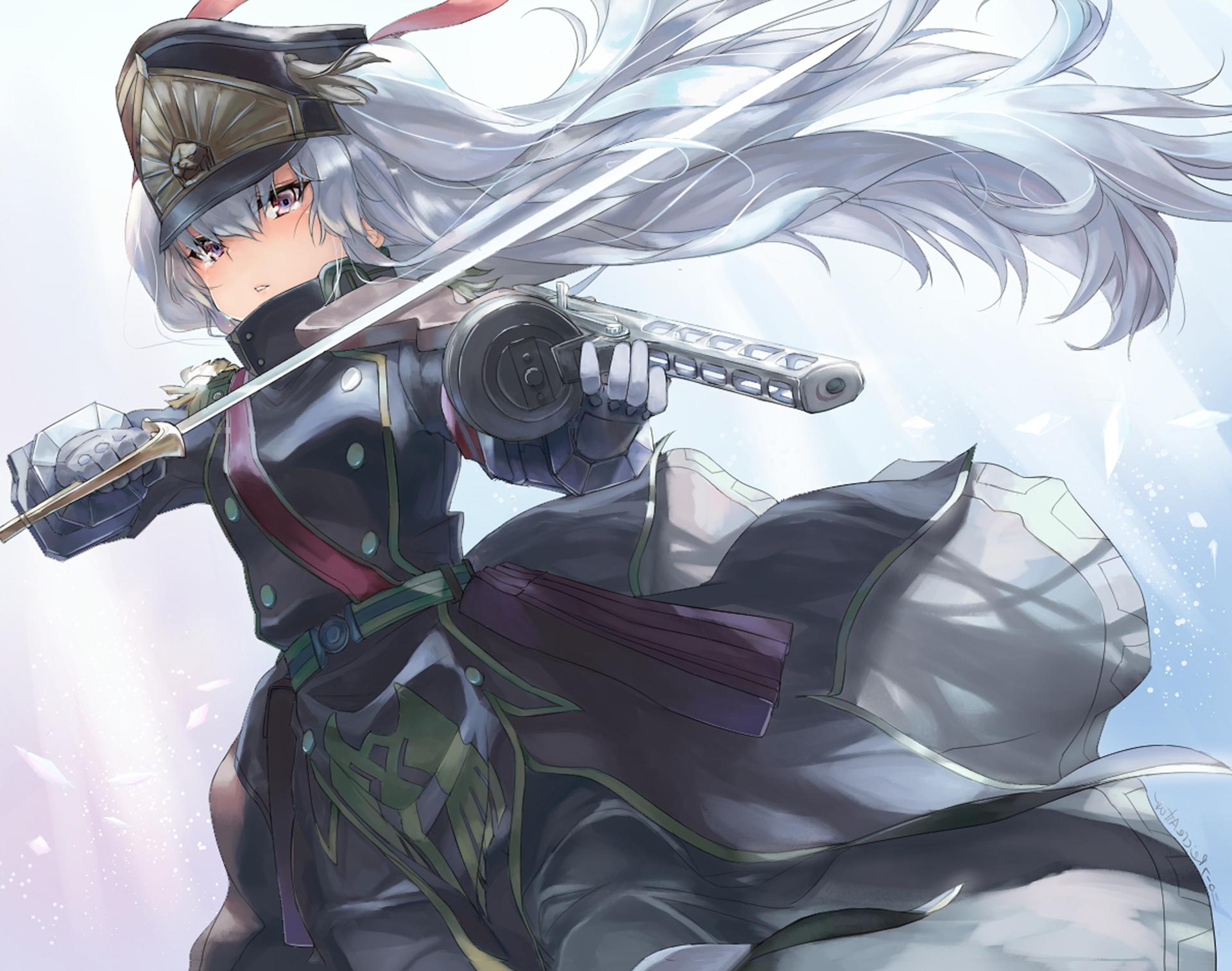 Anime Re:Creators Altair (Re:Creators) Gunpuku No Himegimi