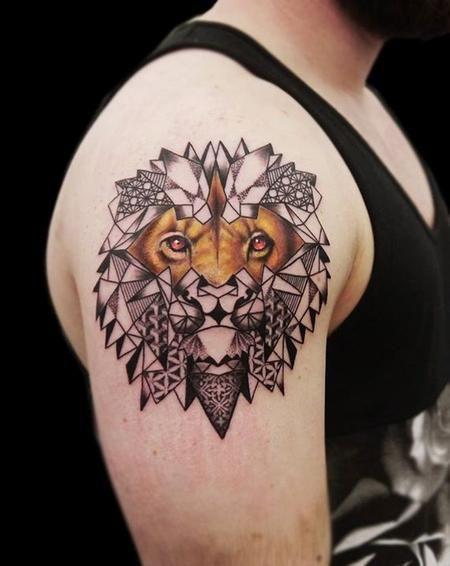 edda6b45ed2bf feminine geometric tattoos - Google Search | Tattoo | Tattoos, Lion ...