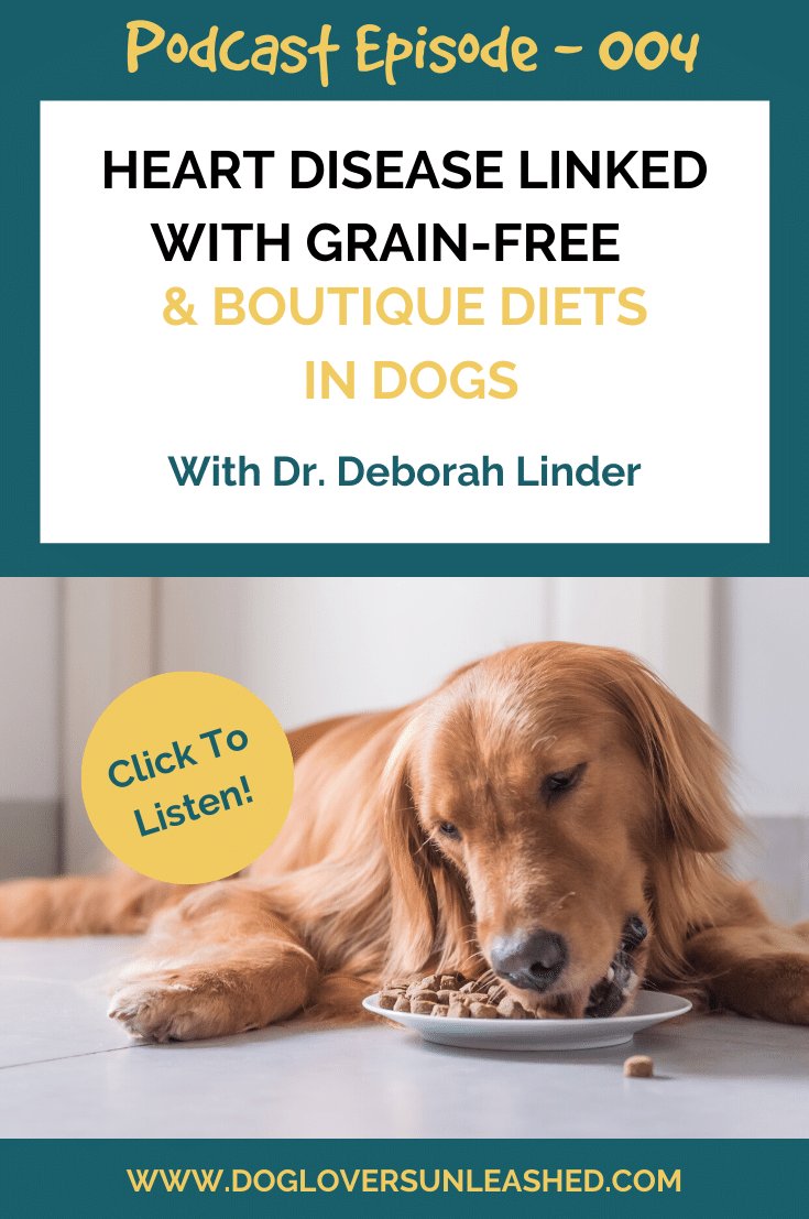 Heart Disease Linked With Grain Free Boutique Diets In Dogs Dlu Podcast Episode 004 Canine Health Canine Allergies Healthy Dog Food Recipes