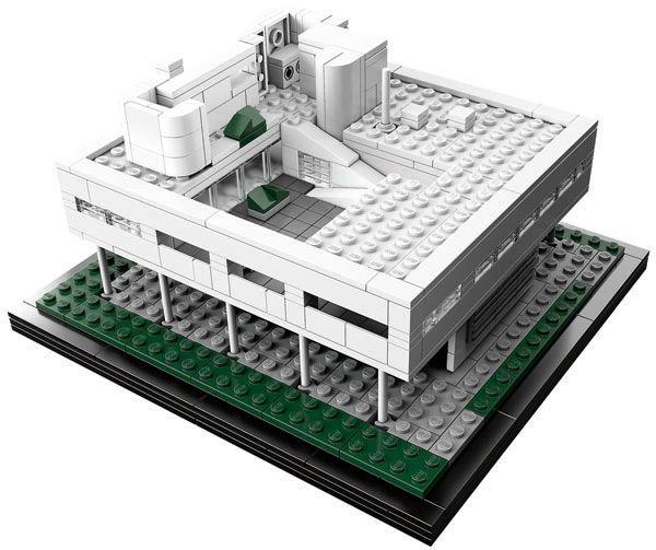 Modern Architecture Lego lego architecture villa savoye   lego architecture, lego and
