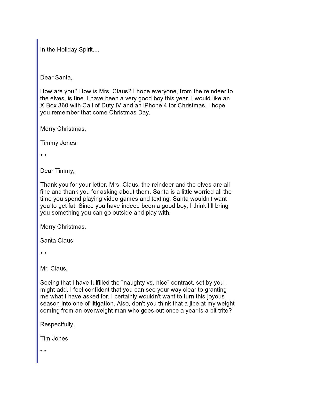 Letter to santa page 1 of 3 read first humor pinterest letter to santa page 1 of 3 read first spiritdancerdesigns Images