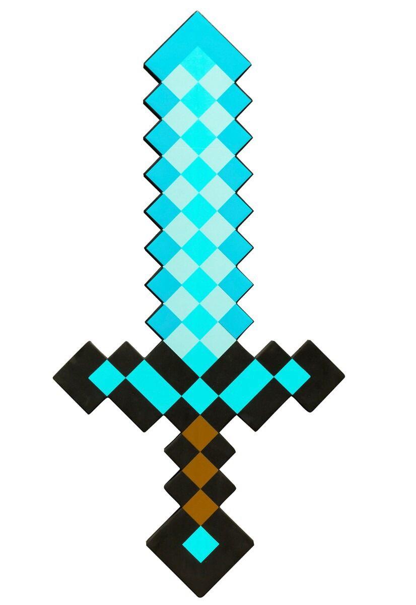 Espada Festa De Aniversario Minecraft Aniversario Minecraft