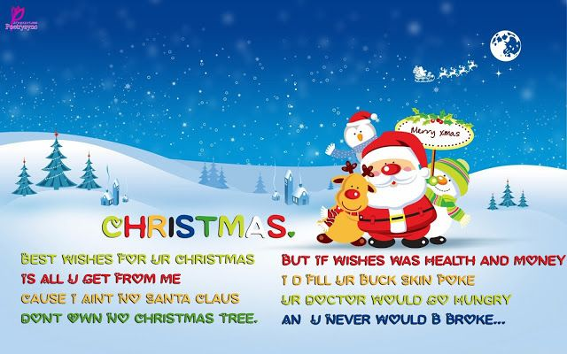 Poetry: Christmas Short Poems for Children with Printable Cards ...