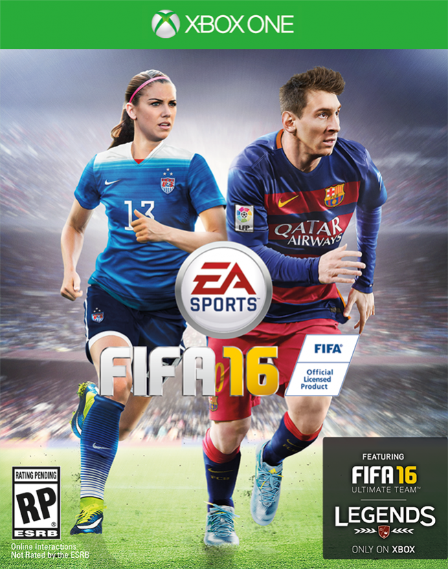 Alex Morgan Will Be The First Female Cover Star For Ea S Fifa Video Game Fifa 16 Fifa 16 Game Fifa