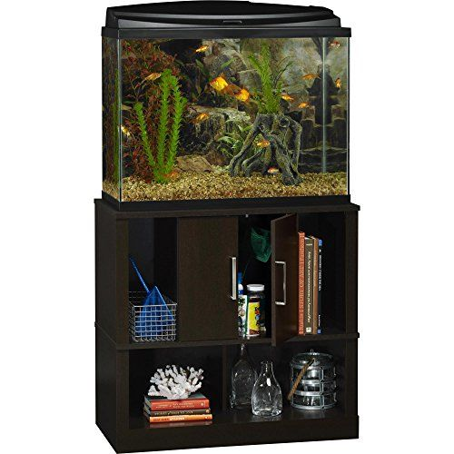 Altra Furniture Altra Laguna Tide 29 37 Gallon Aquarium Stand Espresso Aquarium Stand Tucker Murphy Pet Fish Tank Stand