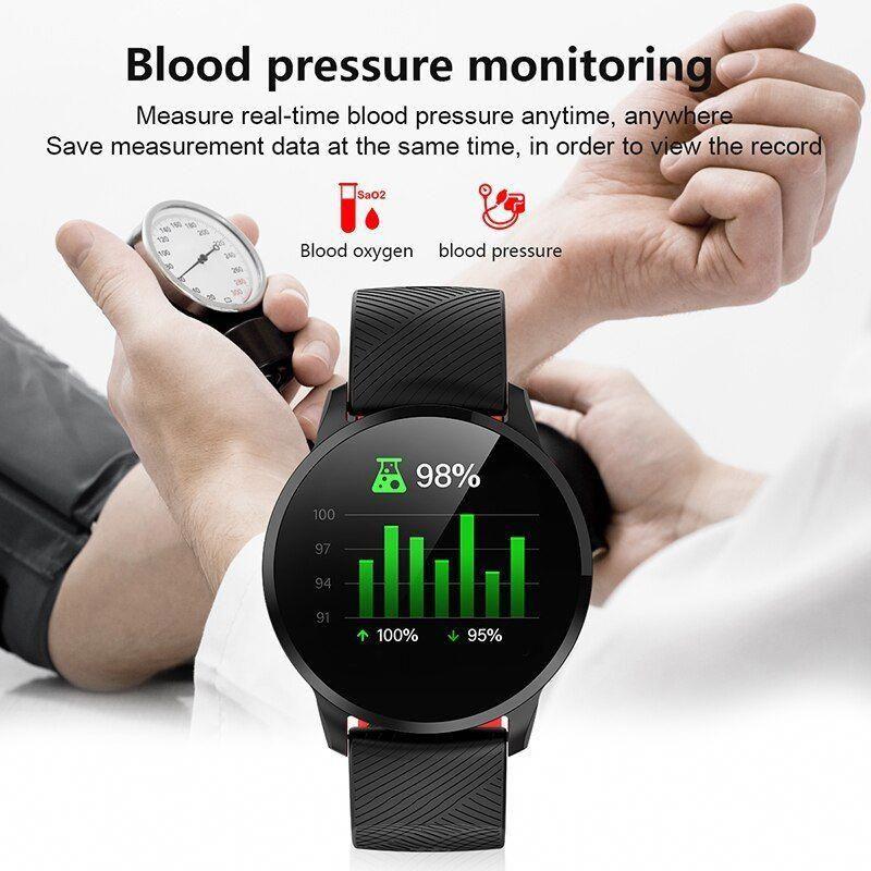 2019 BANGWEI Smart Watch Men Women Fitness Watches Pedometer Tracker Heart Rate Monitor IP67 Waterpr...