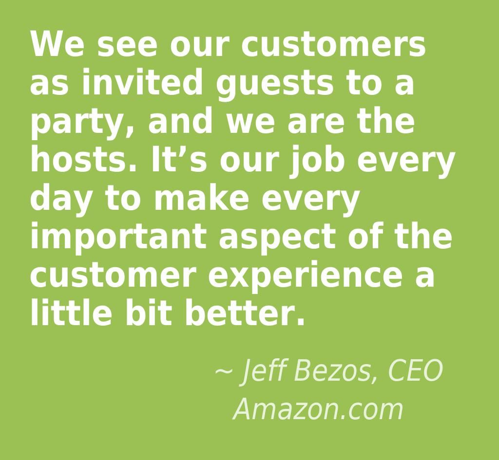 Quotes About Experience: GREAT CUSTOMER SERVICE QUOTES