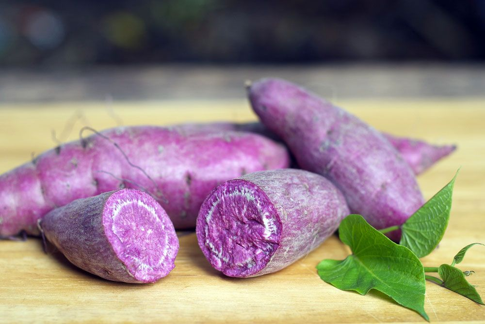 10 Weird Fruits And Vegetables From Around The World Page 8 Of 11 Best Health Magazine Canada Purple Yam Purple Sweet Potatoes Yams