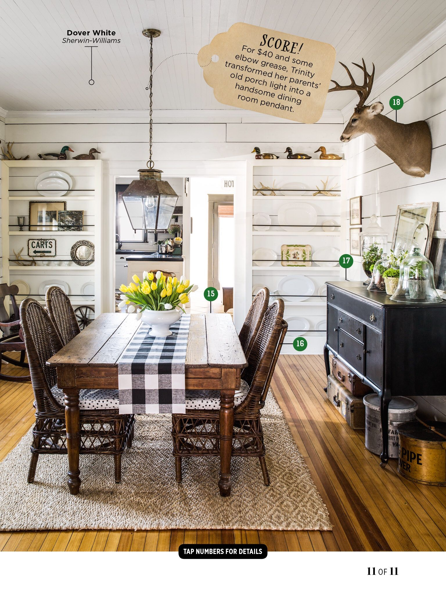 Pendant Light Over Dining Room Table I Saw This In The May 2015 Issue Of