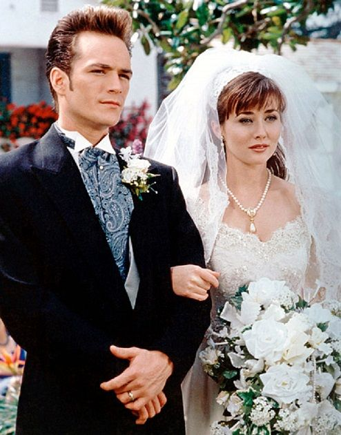 Beverly Hills 90210 - Dylan McKay and Brenda Walsh's wedding
