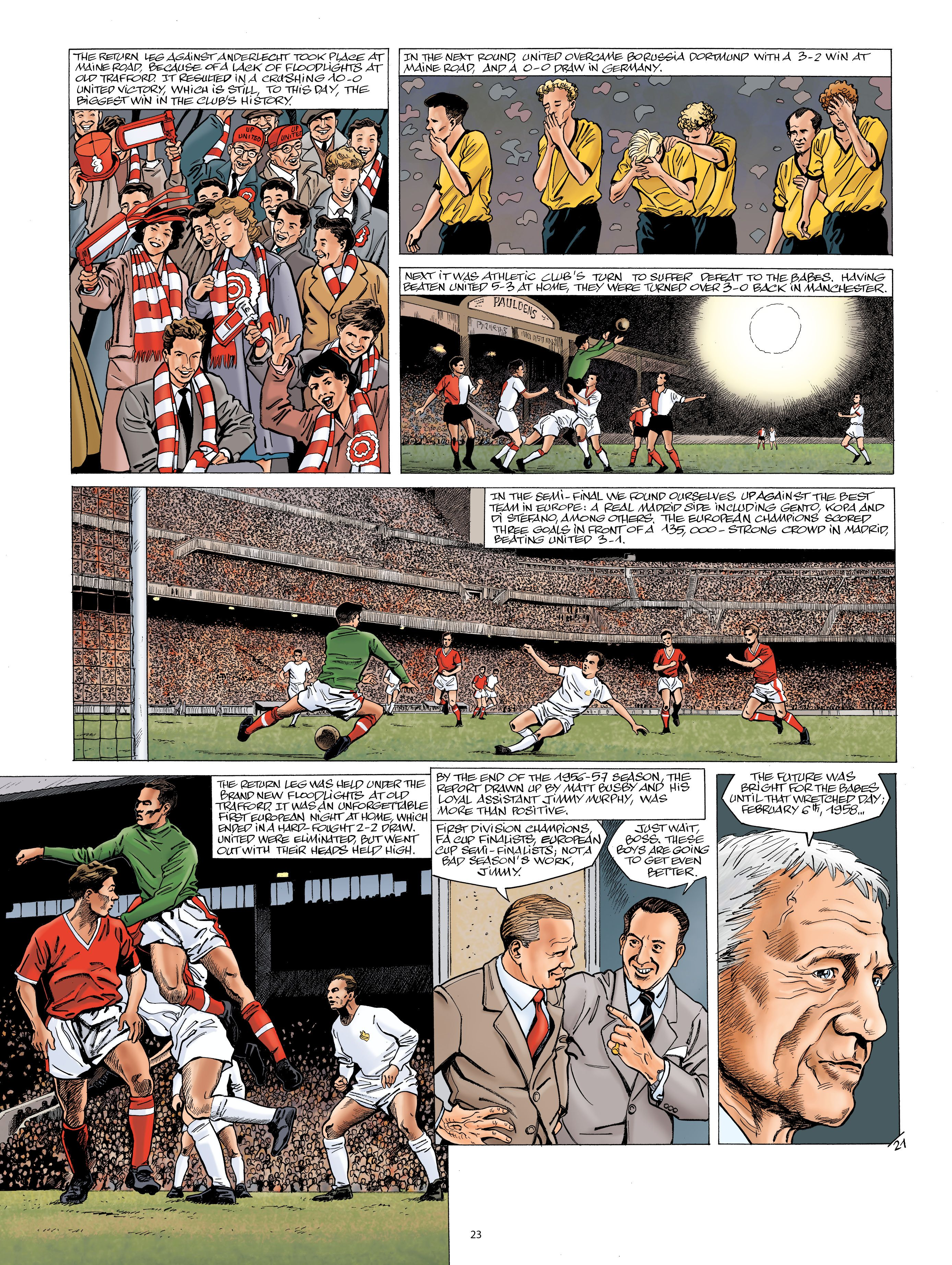 Manchester United Tales From History The Official Graphic Novel Volume 1