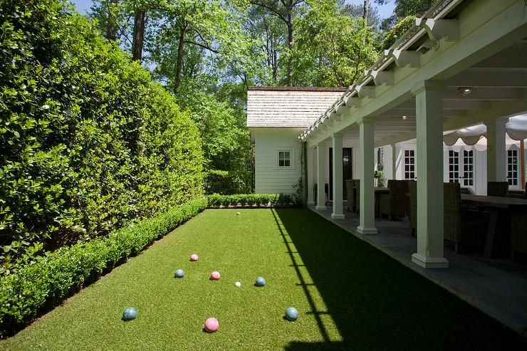 Bocce Ball Courts Tutorial Bocce ball court, Bocce court