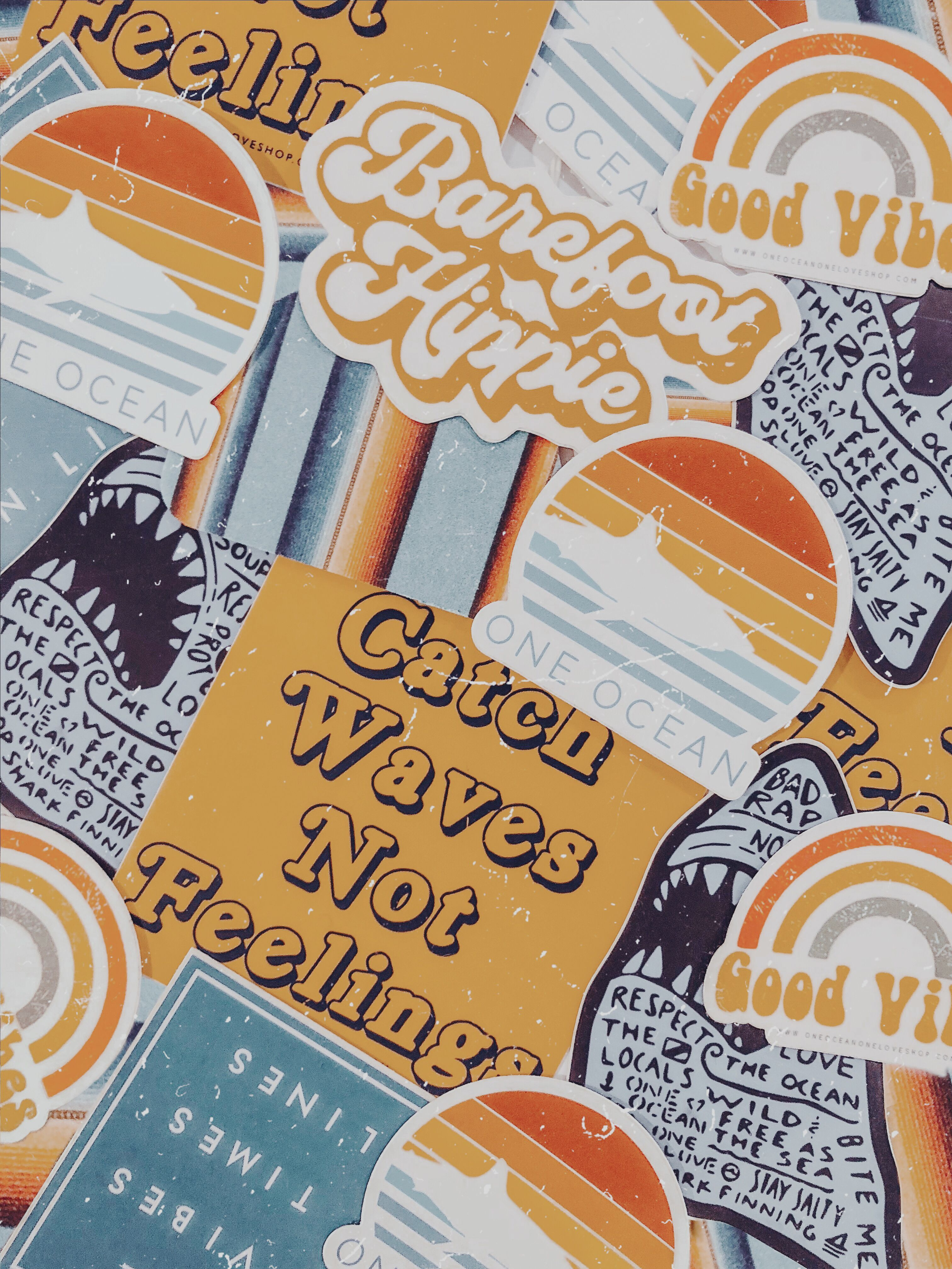 Surf Stickers Retro Vintage In 2020 Surf Stickers Hippie Sticker Line Sticker