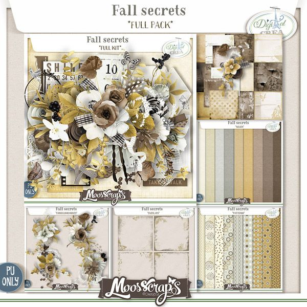 Fall Secrets by Moosscrap's Designs http://bit.ly/DC_Moos http://bit.ly/OS_Moos