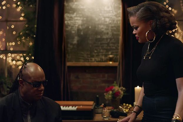 Stevie Wonder and Andra Day Celebrate the Holidays With Apple ...