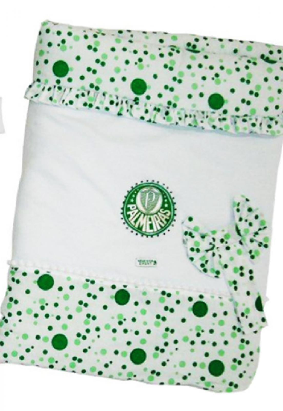 358fb4a87d59f3 Kit Bebê Reve D'or Sport Macacão Vestido Palmeiras Branco | Products ...