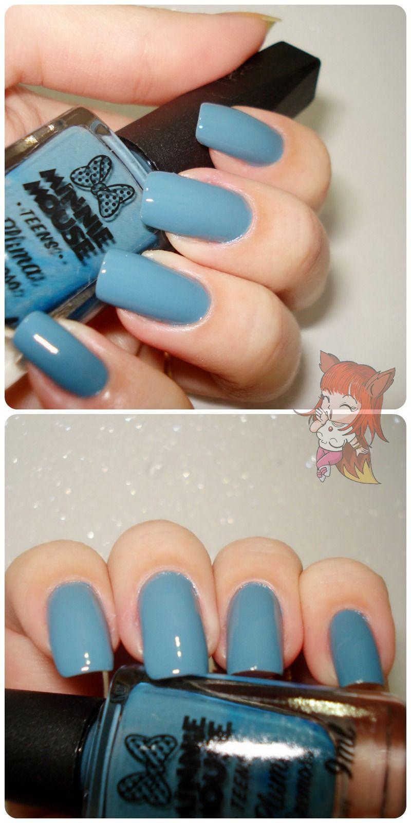 Esmalte Minnie Mouse - Pluma - Resenha  Hoje tem um azul lindo da #minniemouse no blog. http://www.ruivacohen.com.br/2016/05/esmalte-minnie-mouse-pluma-resenha.html