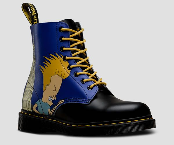 Dr. Martens unleashes a punky Beavis and Butthead collection