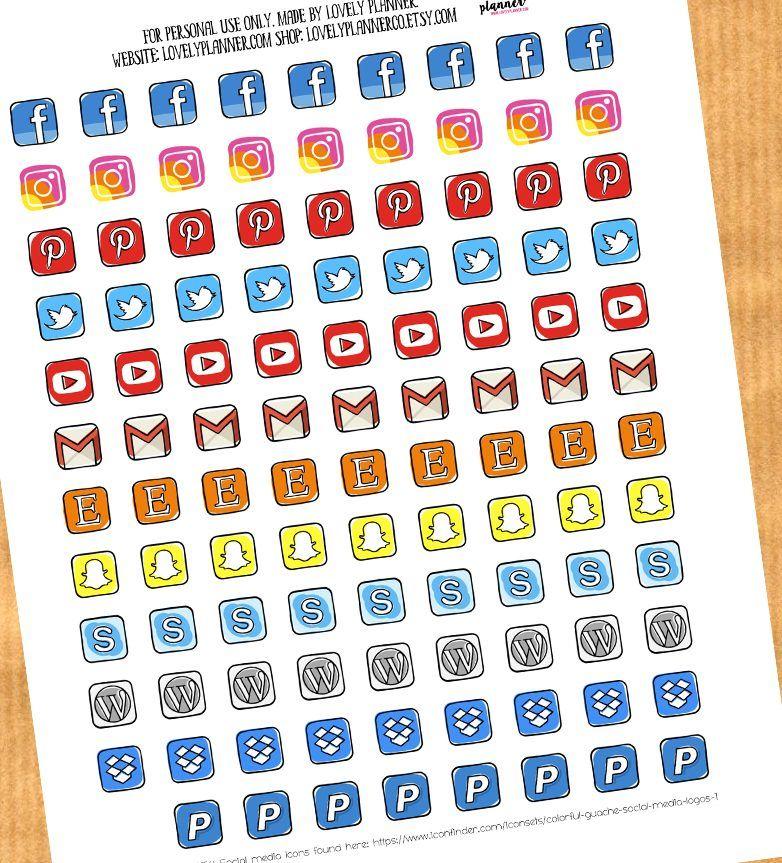 Life Planner Sticker Kit Movie Night Mini Kit on premium matte