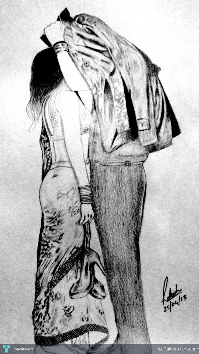 Aashiqui 2 in sketching by rakesh chauhan